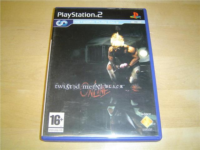 TWISTED METAL BLACK ONLINE SONY PLAYSTATION 2 PS2 PAL *NYTT*