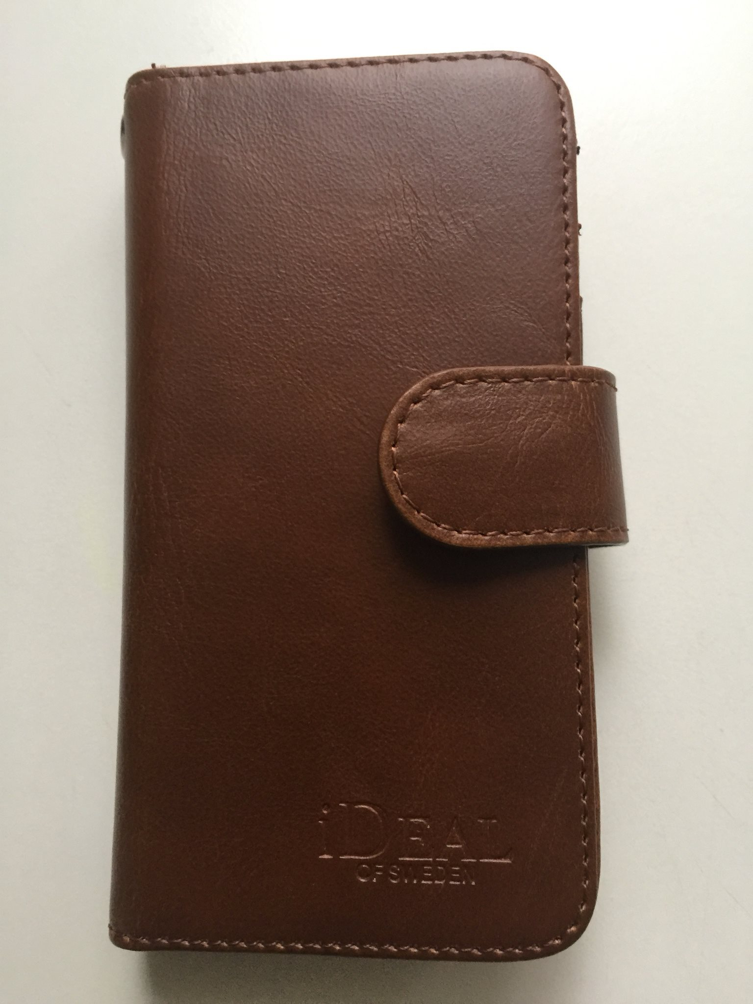 Mobil fodral äkta läder iphone 5 mobilplånbok (328253239) ᐈ Köp på ... 3c5b5ef874f80