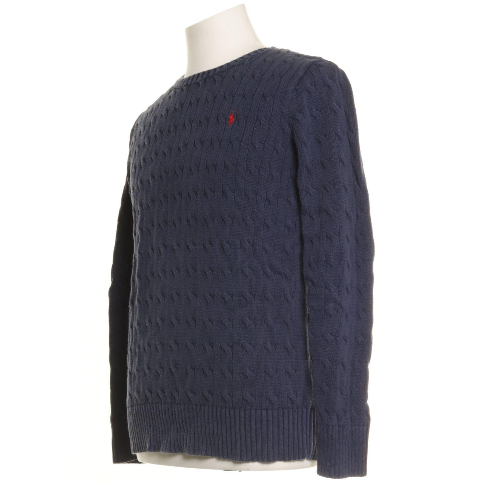 Polo Ralph Lauren, Lauren, Lauren, Tröja, Strl: XL, Mörkblå 80493c