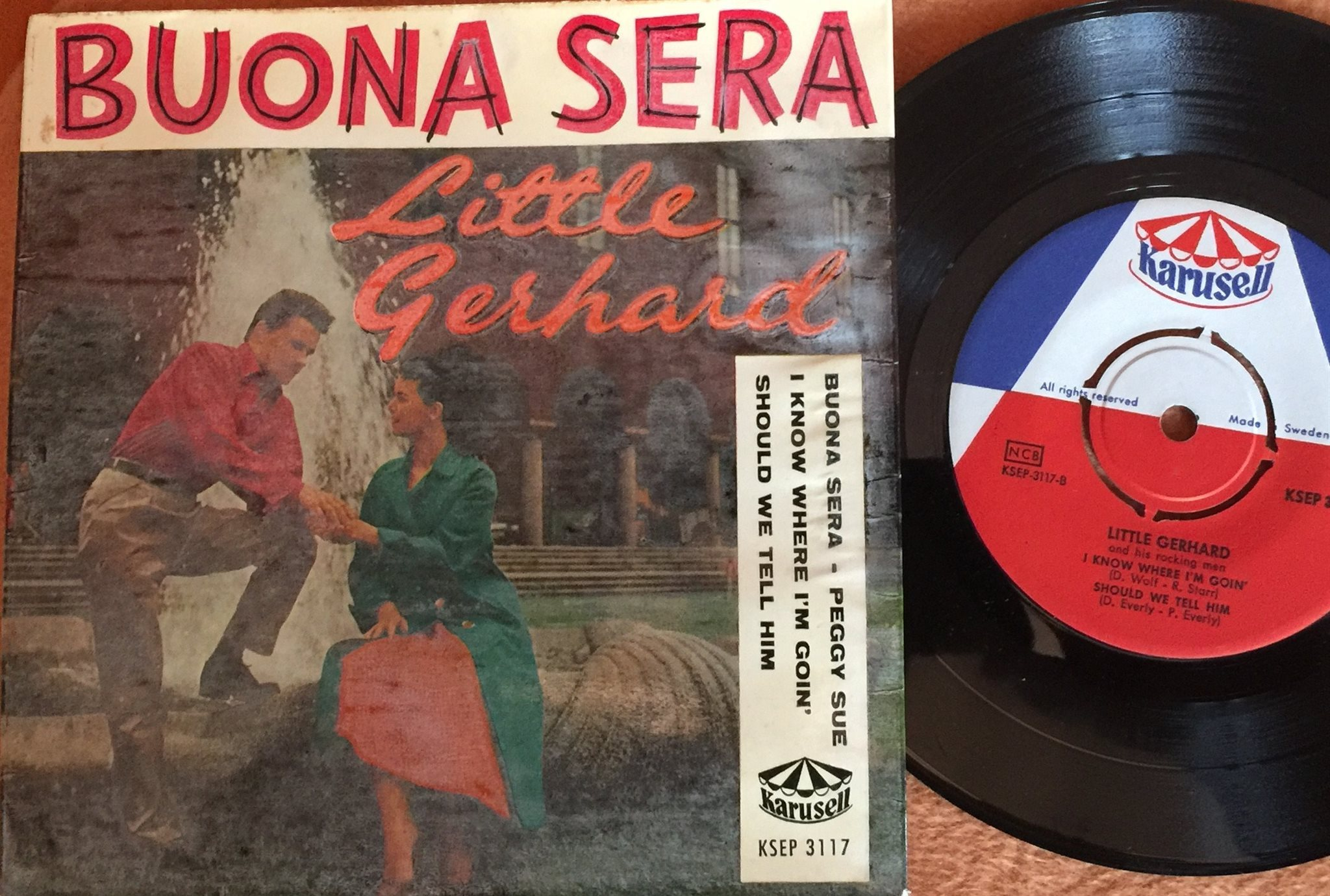 LITTLE GERHARD  BUONA SERA