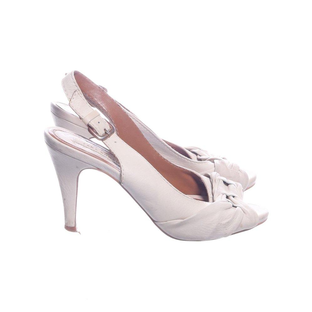 168a3a80d2d Zara Woman, Klackskor, Strl: 37, Beige (347650575) ᐈ Sellpy på Tradera