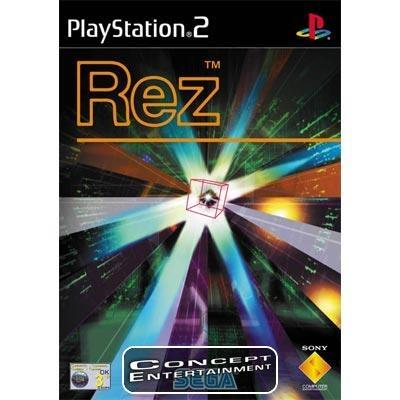 REZ (komplett) till Sony Playstation 2, PS2