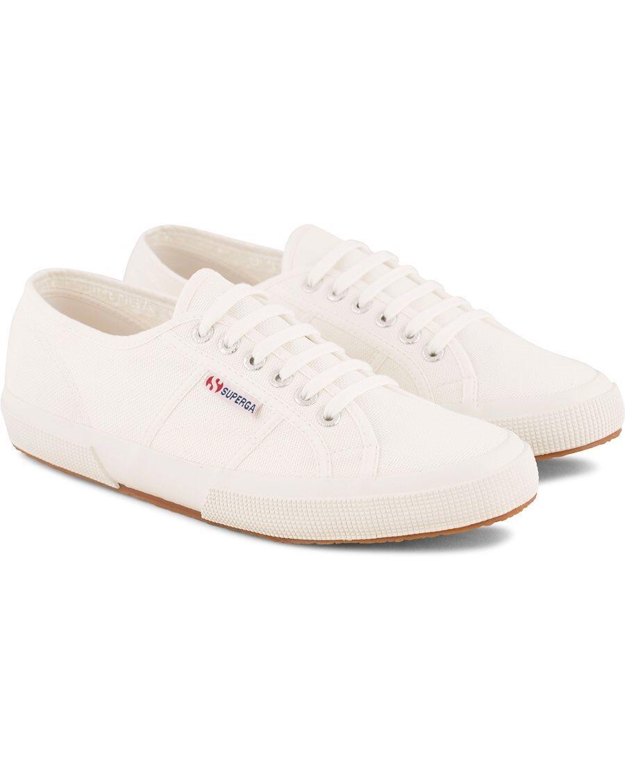 vita tyg sneakers