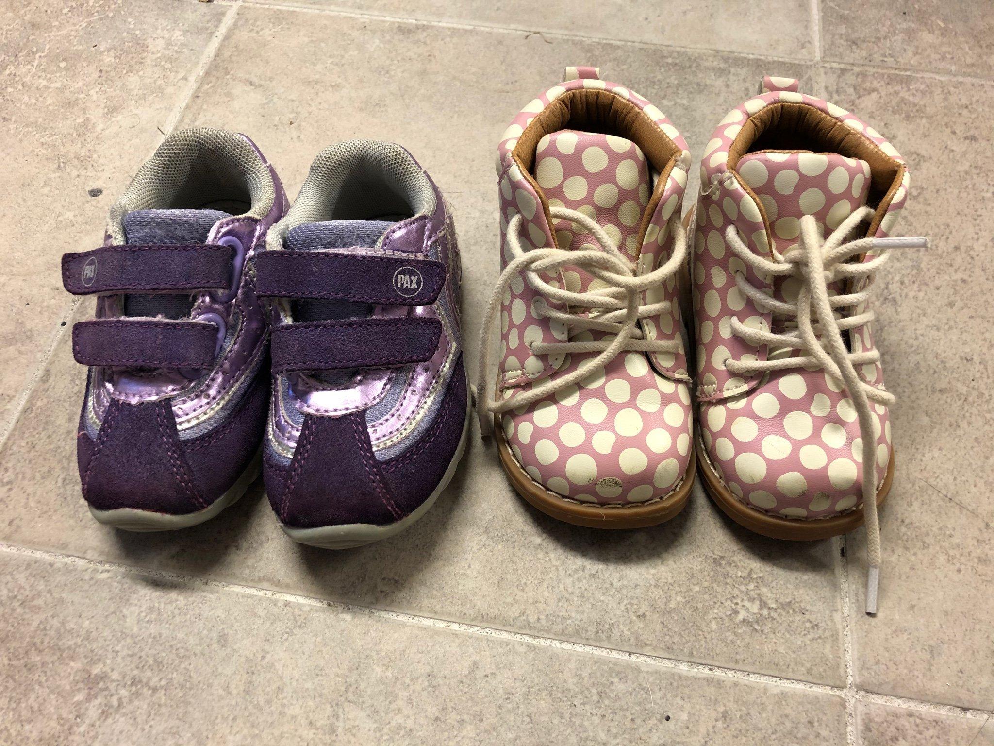2 par barn Skor storlek 21 pax och H&M (404358993) ᐈ Köp på
