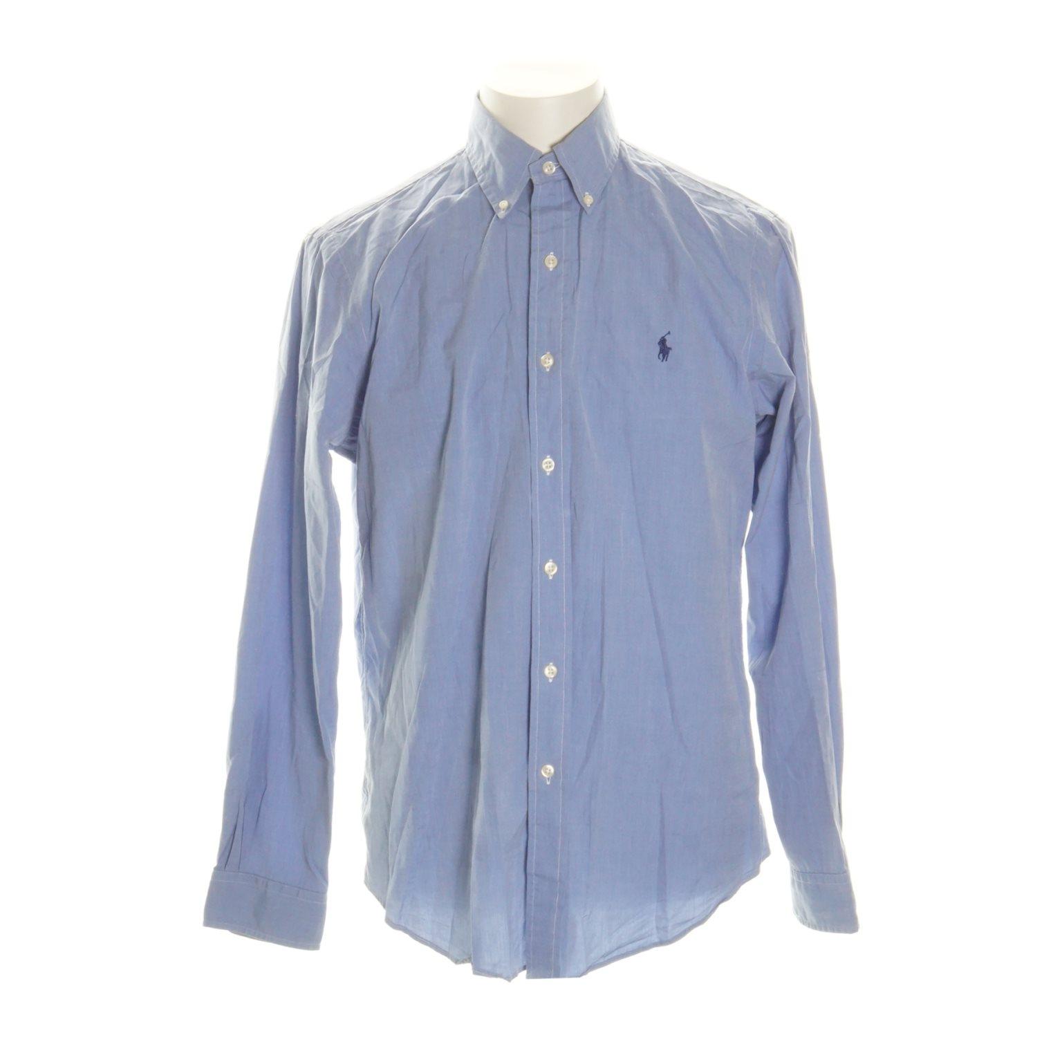 8f09534102de Ralph Lauren, Skjorta, Strl: M, Blå (334910671) ᐈ Sellpy på Tradera