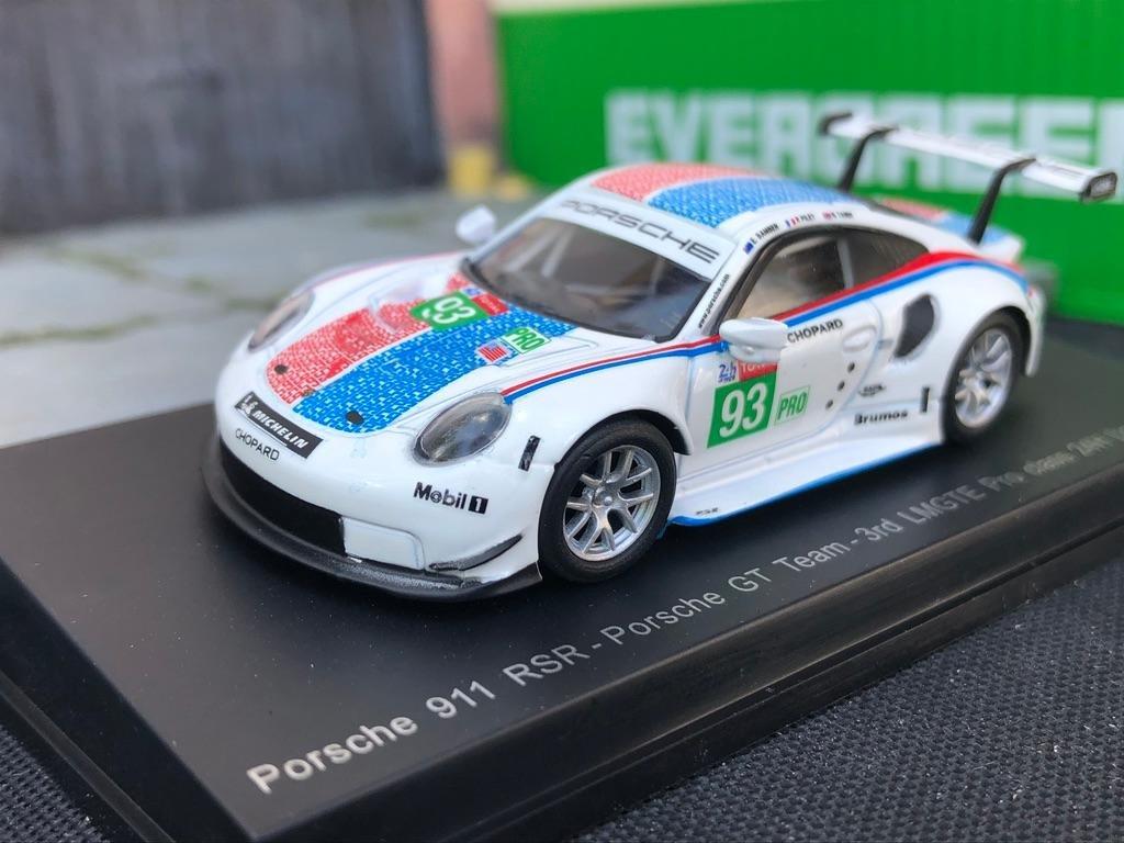 Sparky 1:64 Porsche 911 RSR No.93 Porsche GT Team 3rd LMGTE Pro class 24H LeMans
