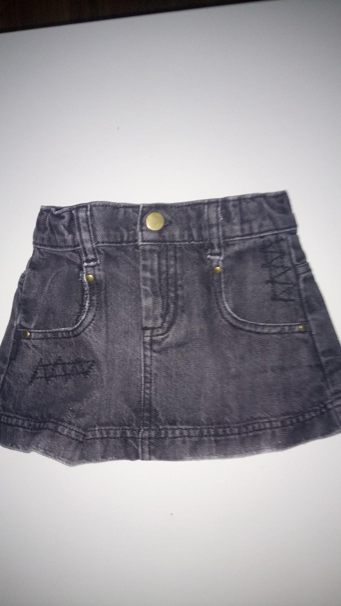 Svart jeans kjol str 2 år från Gangstar (349627664) ᐈ Köp