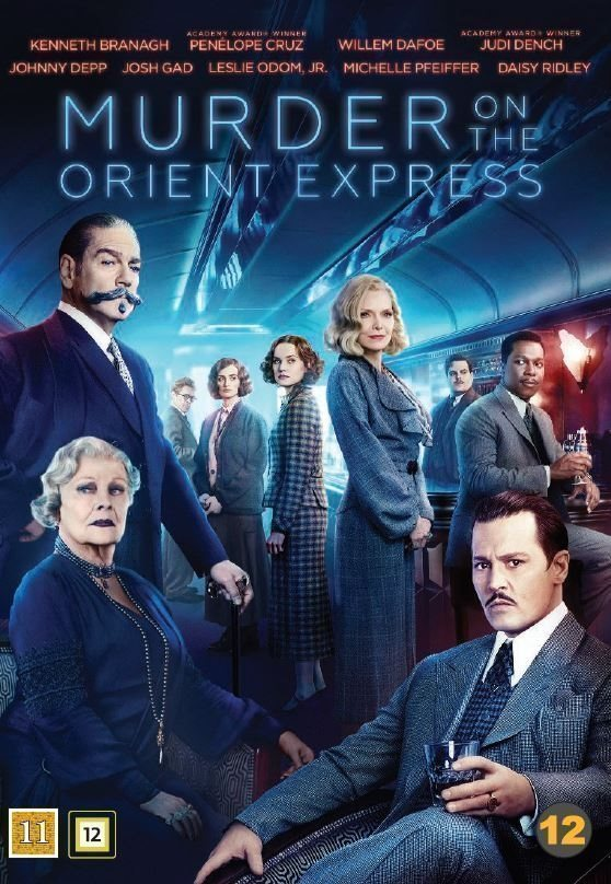Murder on The Orient Express 2017  DVD  Ny