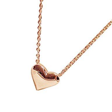 halsband med litet hjärta