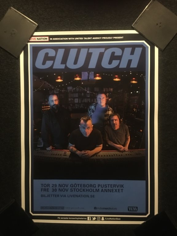 CLUTCH TURNÉAFFISCH 2018