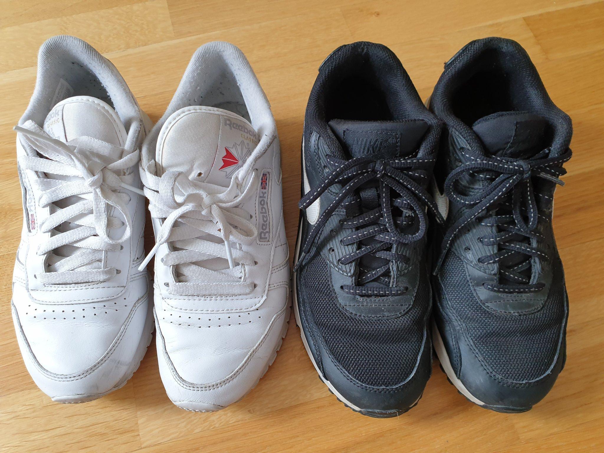 san francisco 112b2 c1604 Två par sneakers, Nike Air Max + Reebok strl 37