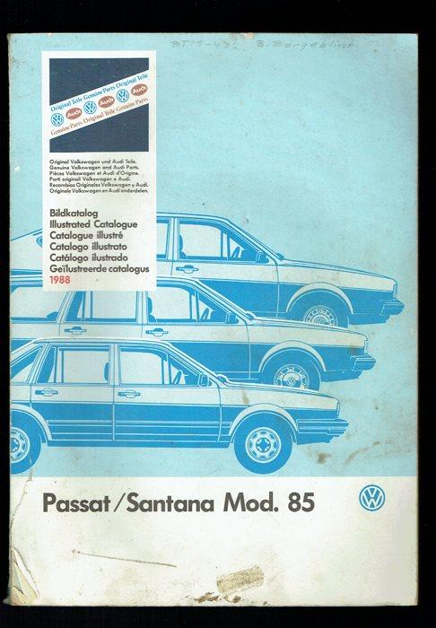 VW Passat / Santana Mod. 85 bildkatalog