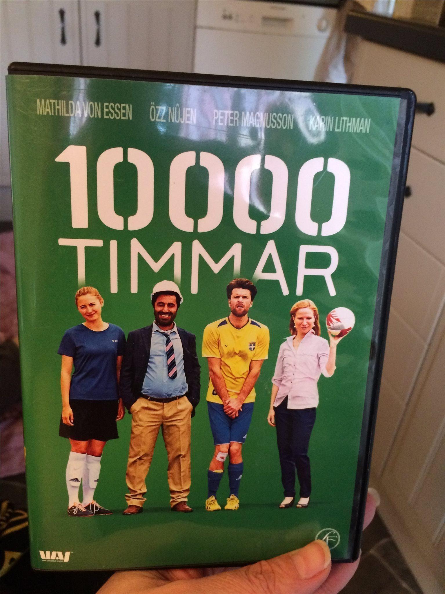 10000 Timmar Pa Tradera Svensk Komedi Dvd Film 10 000
