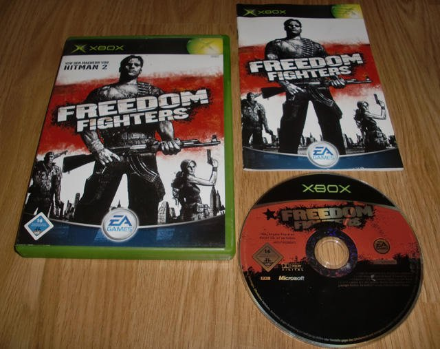 Xbox: Freedom Fighters