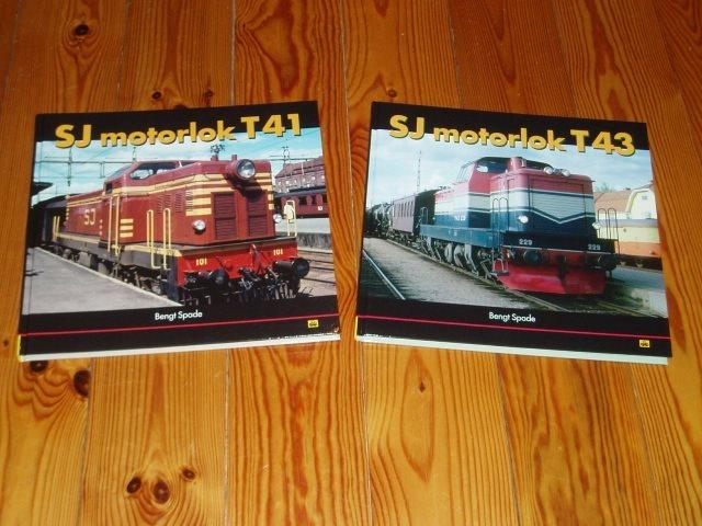 SJ motorlok T41 och T43