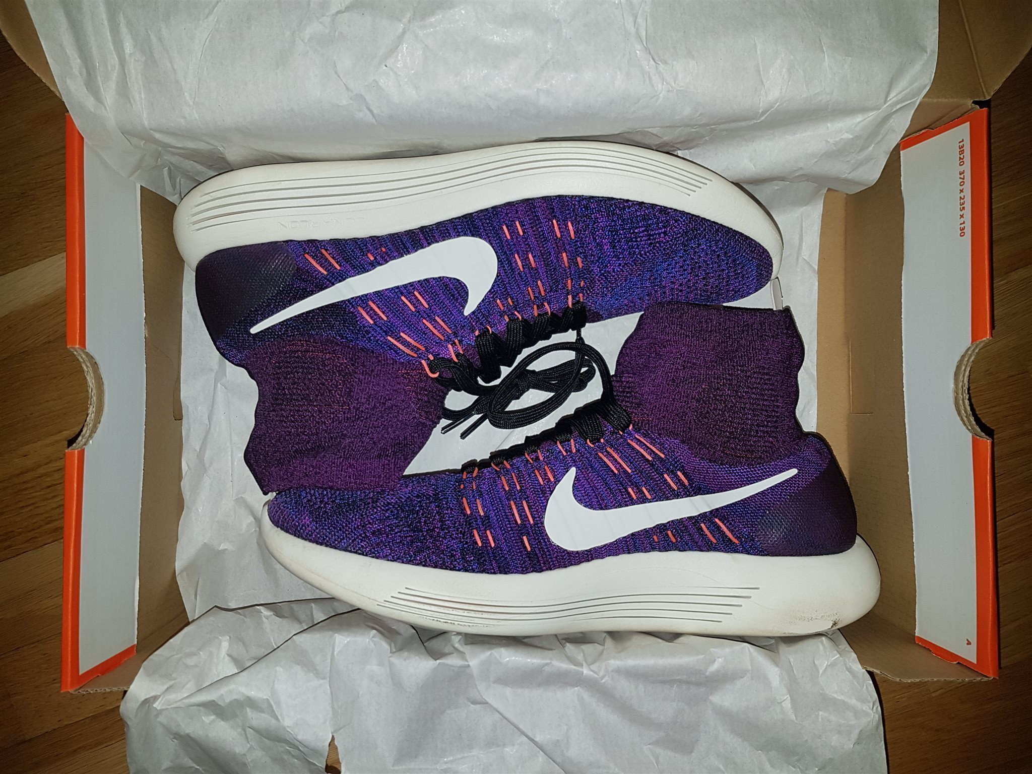 cheap for discount 0c657 02d80 Nike Lunarepic Flyknit, Lila, strl 45,5. 2 besökare. Nike Lunarepic Flyknit,  Lila, strl 45,5