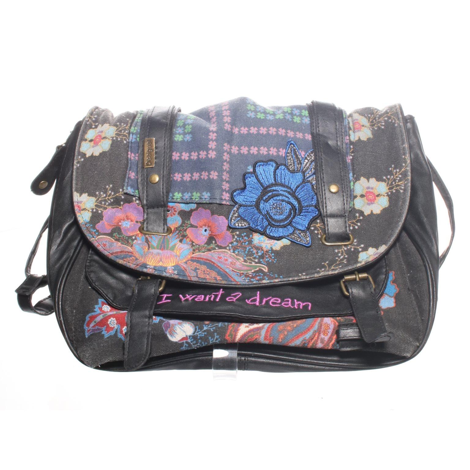 desigual väska blå