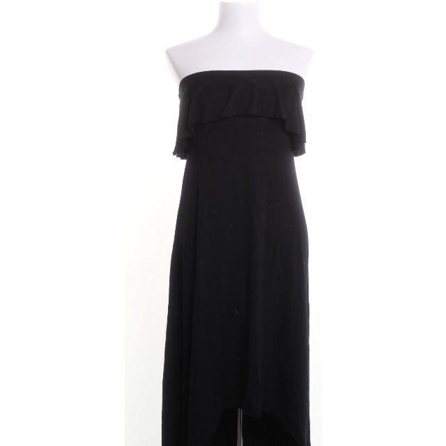 svart långklänning fest