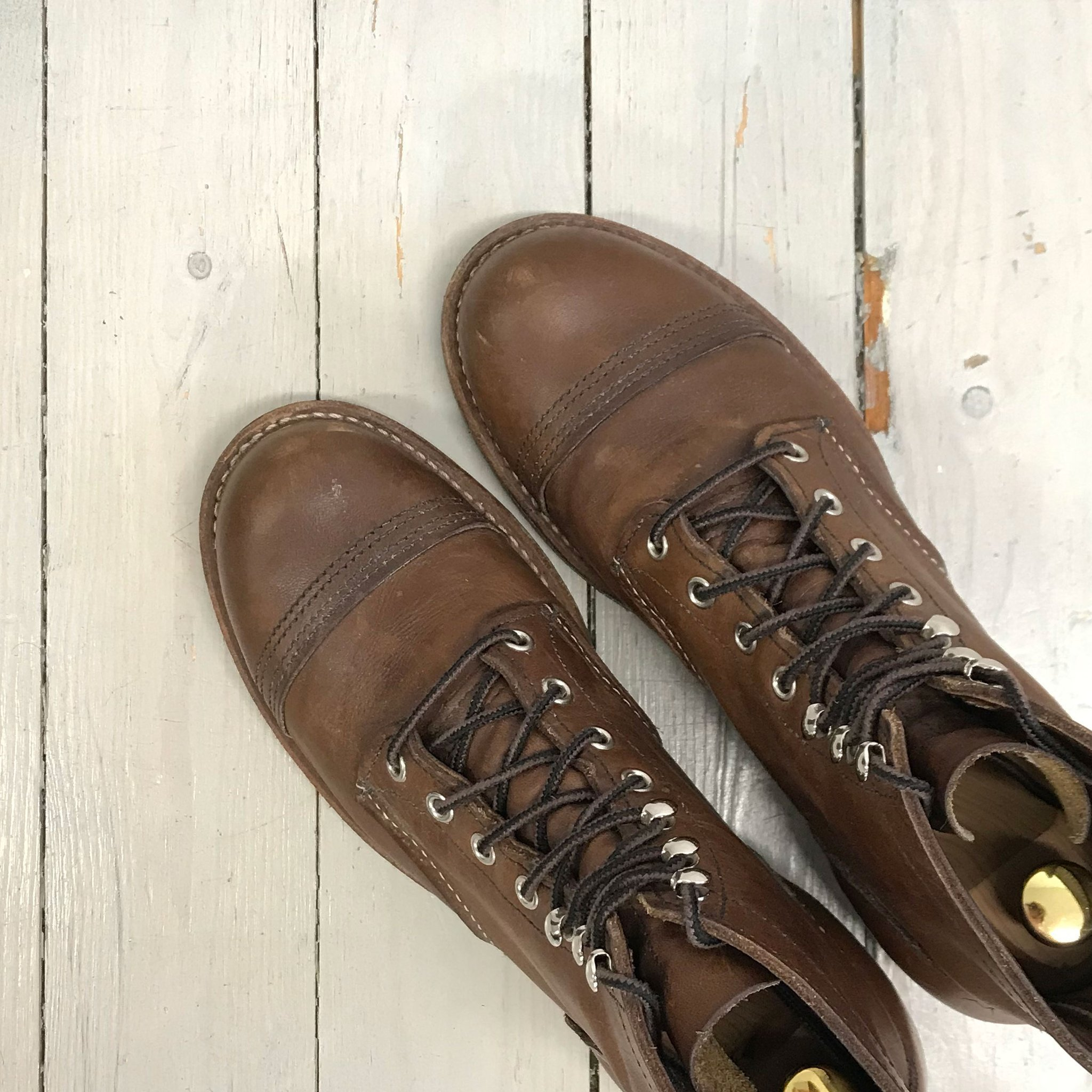 dcfc744dc31 Red Wing Shoes Iron Ranger 8111 Amber Harness u.. (349952050) ᐈ Köp ...