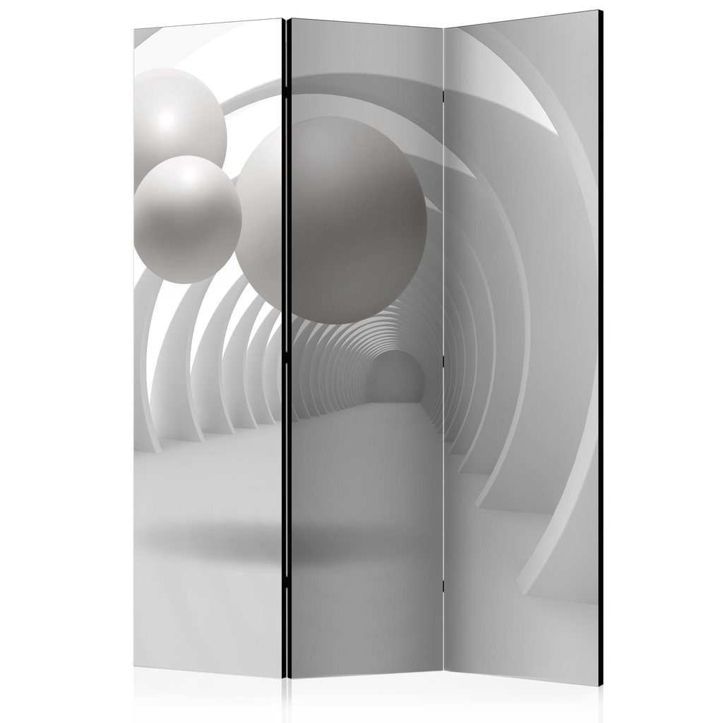 Rumsavdelare - White Tunnel Room Dividers 135x172
