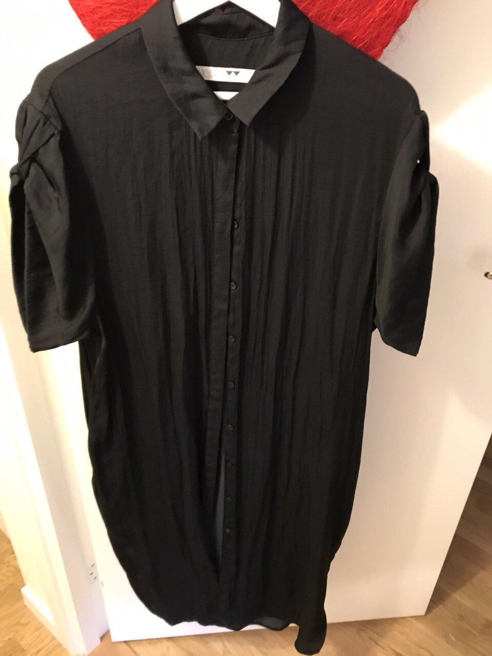 Junkyard svart skjortaklänning stl. L (350458592) ᐈ Köp på
