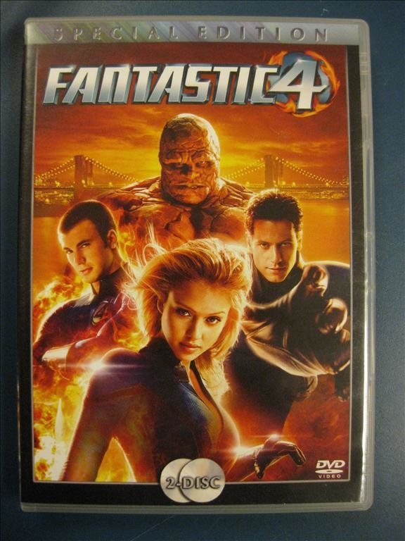 FANTASTIC 4  -  JESSICA ALBA, CHRIS EVANS  - 2 DISC SPECIAL EDITION