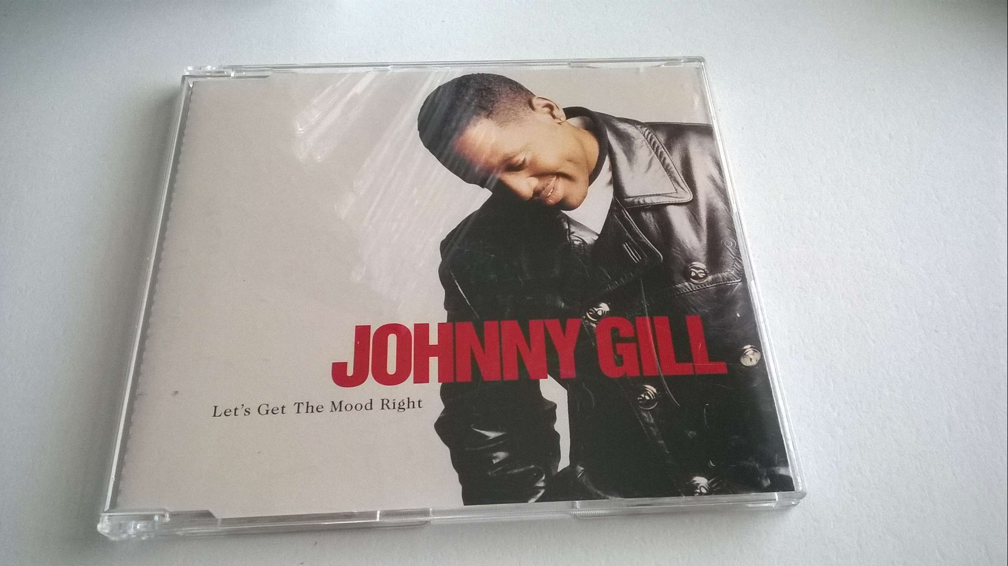 Johnny Gill - Let's Get The Mood Right, Single, Promo(!) CD