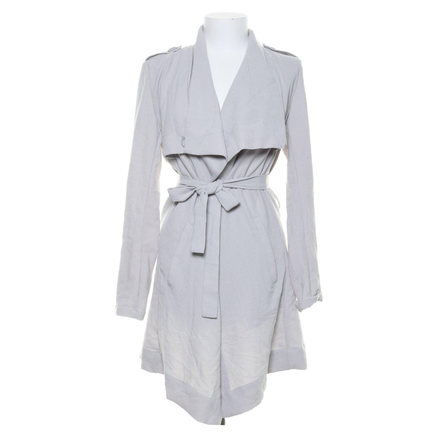 Object, Trenchcoat, Strl: S, Objannlee short jacket, Grå, Polyester
