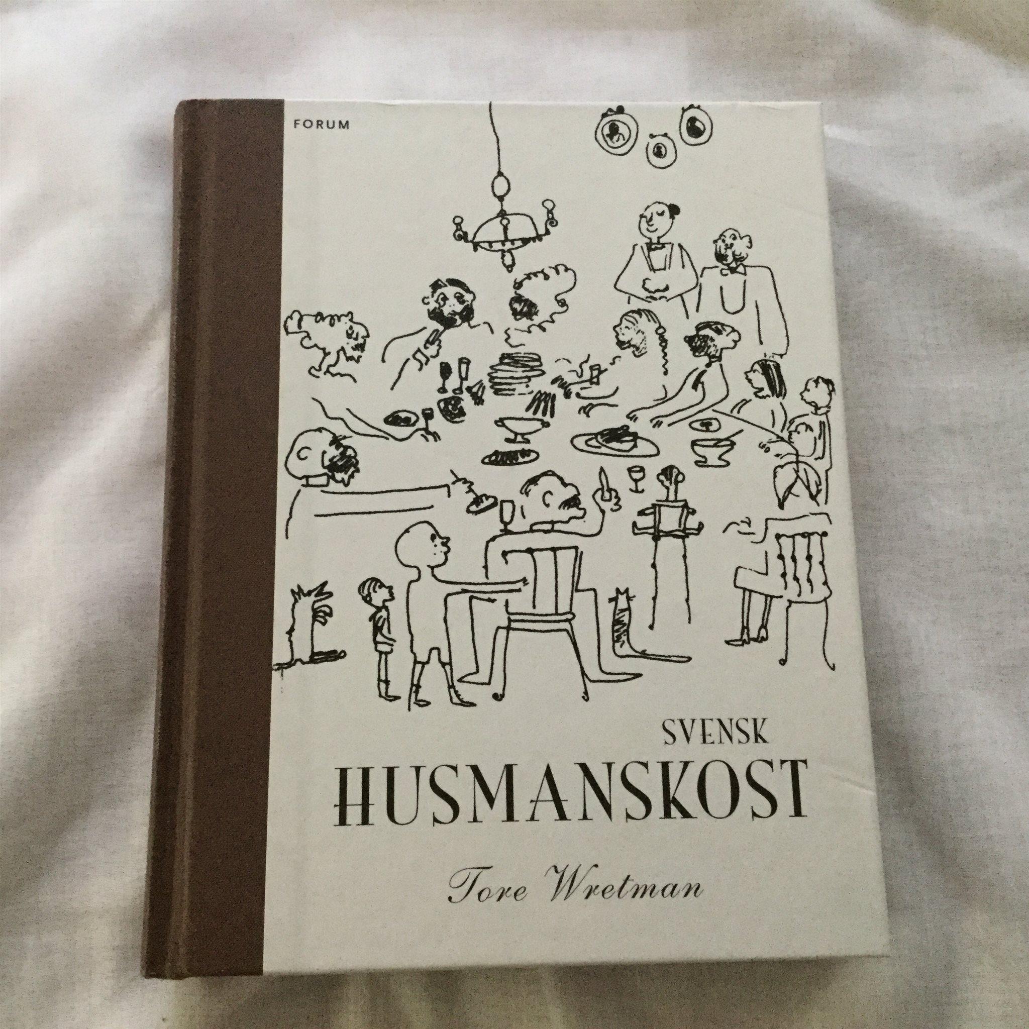 Tore Wretman, Svensk husmanskost, illustrerad av Stig Claesson, Slas
