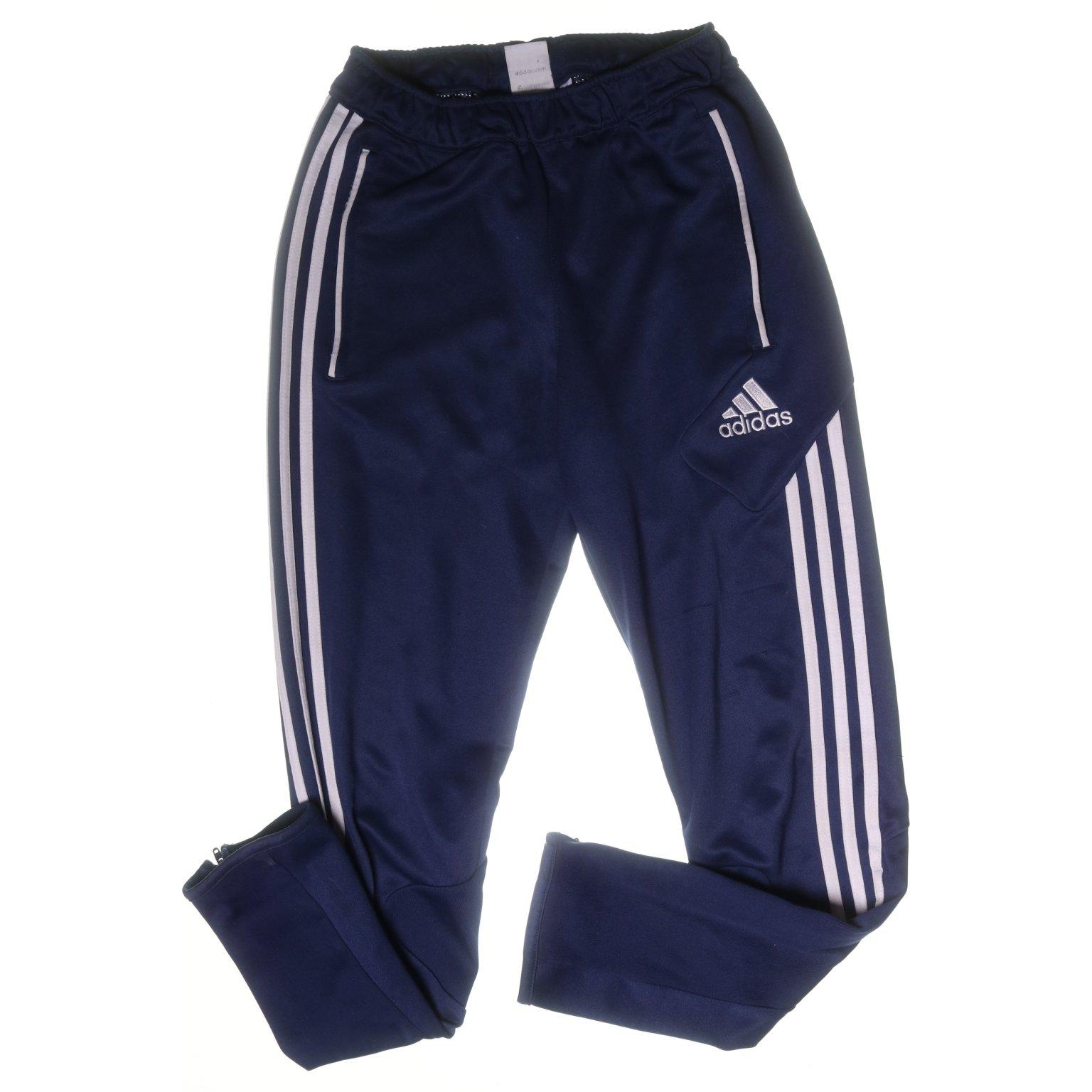 Adidas, Träningsbyxor, Strl: 164, Blå