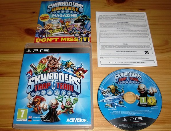 PS3: Skylanders Trap Team