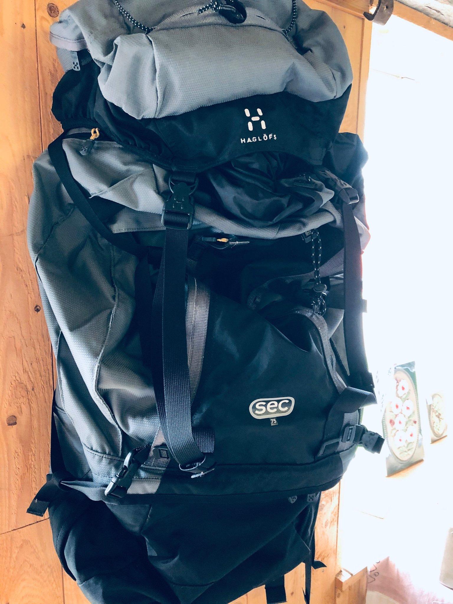 Haglöfs ryggsäck SEC 75 l (414854737) ᐈ Köp på Tradera