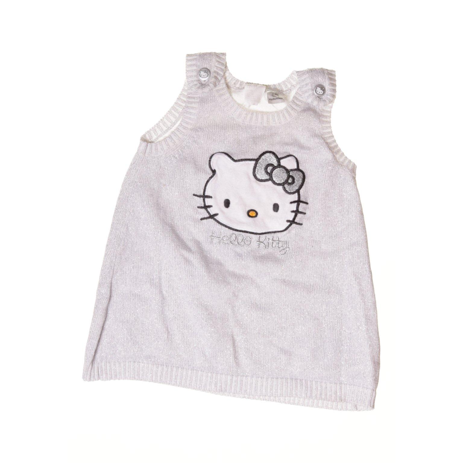 H&M kids x Hello Kitty, Klänning, Strl: 68, Grå