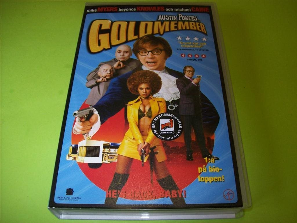 AUSTIN POWERS GOLDMEMBER VHS