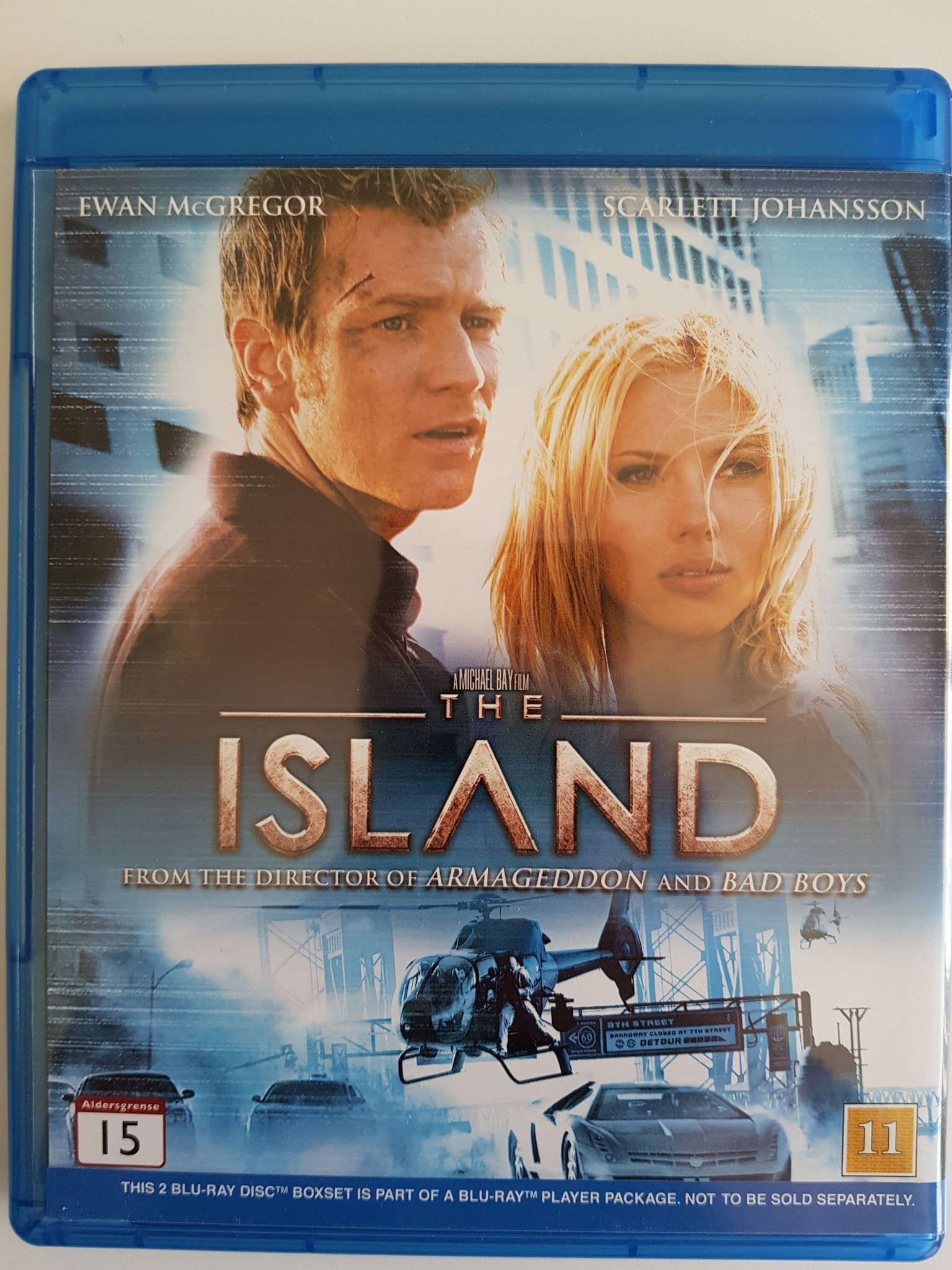 The Island & Blood diamond