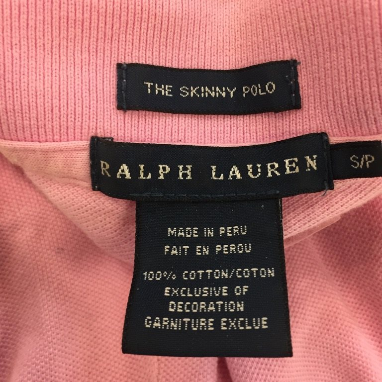 Ralph Ralph Ralph Lauren, Pikétröja, Strl: S, The skinny polo, Rosa bb907e