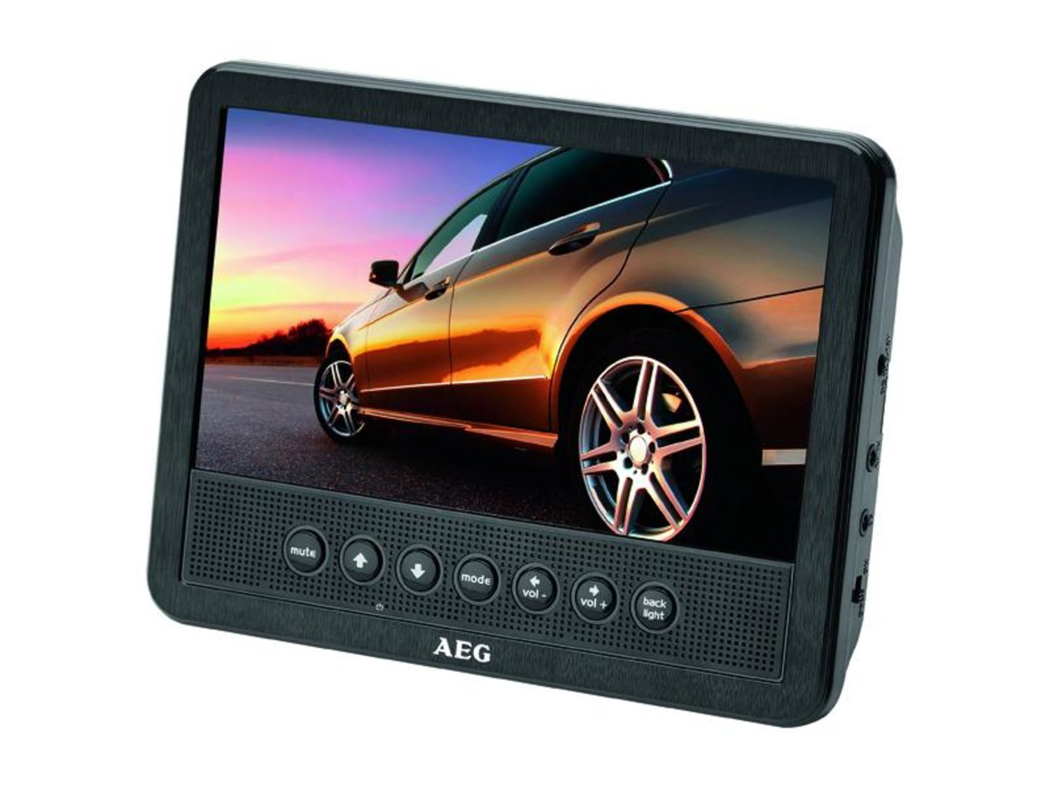 AEG DVD Car Cinema 7 tums DVD 4555 svart