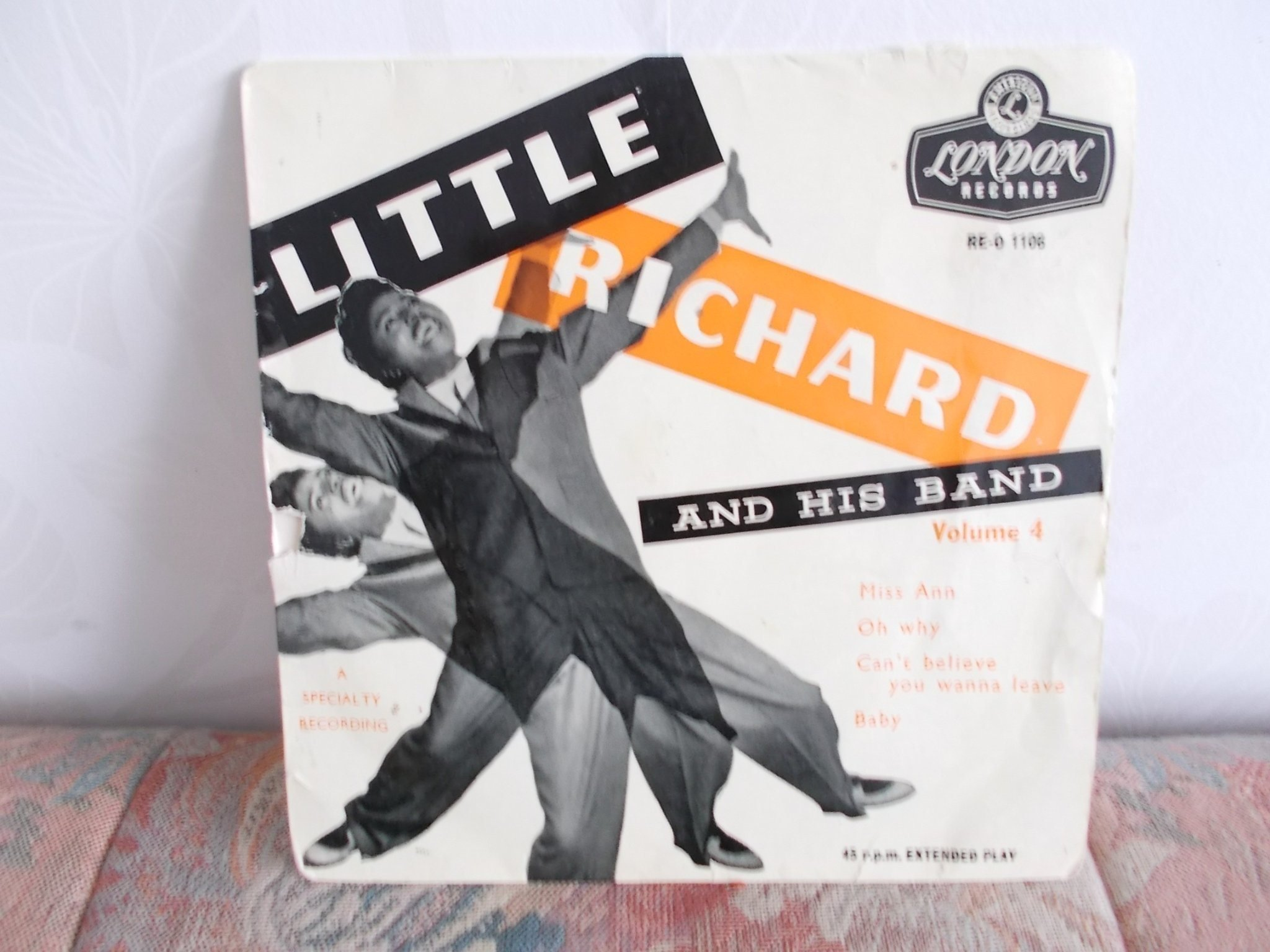 Vinyl EP Little Richard And His Band  Volume 4/ Miss And  M.fl