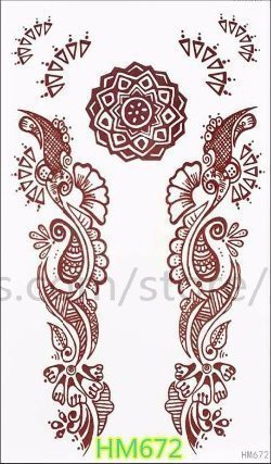 henna tatuering hållbarhet