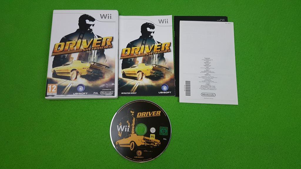 Driver San Francisco KOMPLETT Nintendo Wii