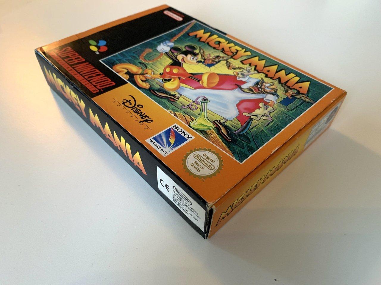 Mickey Mania - SNES - CIB (347336057) ᐈ Köp på Tradera