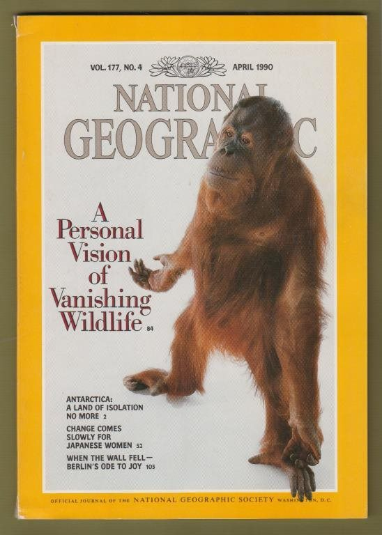 National Geographic, April 1990.