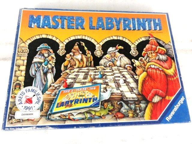 master labyrinth regler dansk