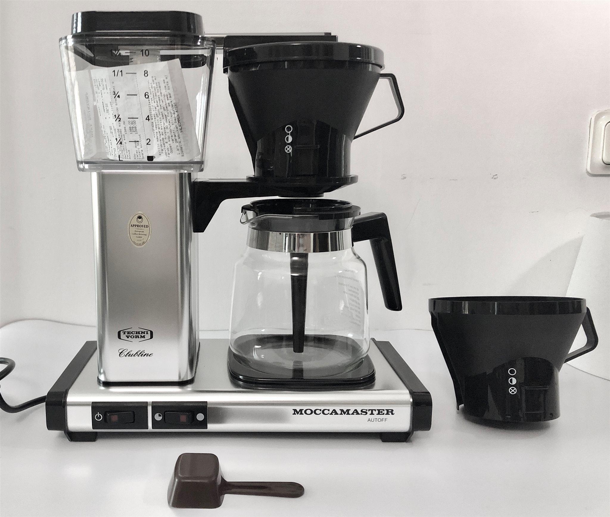 moccamaster kaffebryggare kb 741