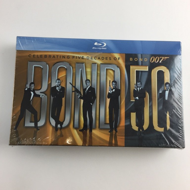 Celebrating Five Decades Of Bond 007, Filmbox, Blu-ray, Action