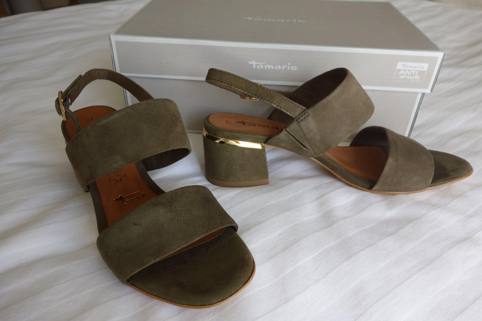 TAMARIS sandaletter sandaler mocka strl 37