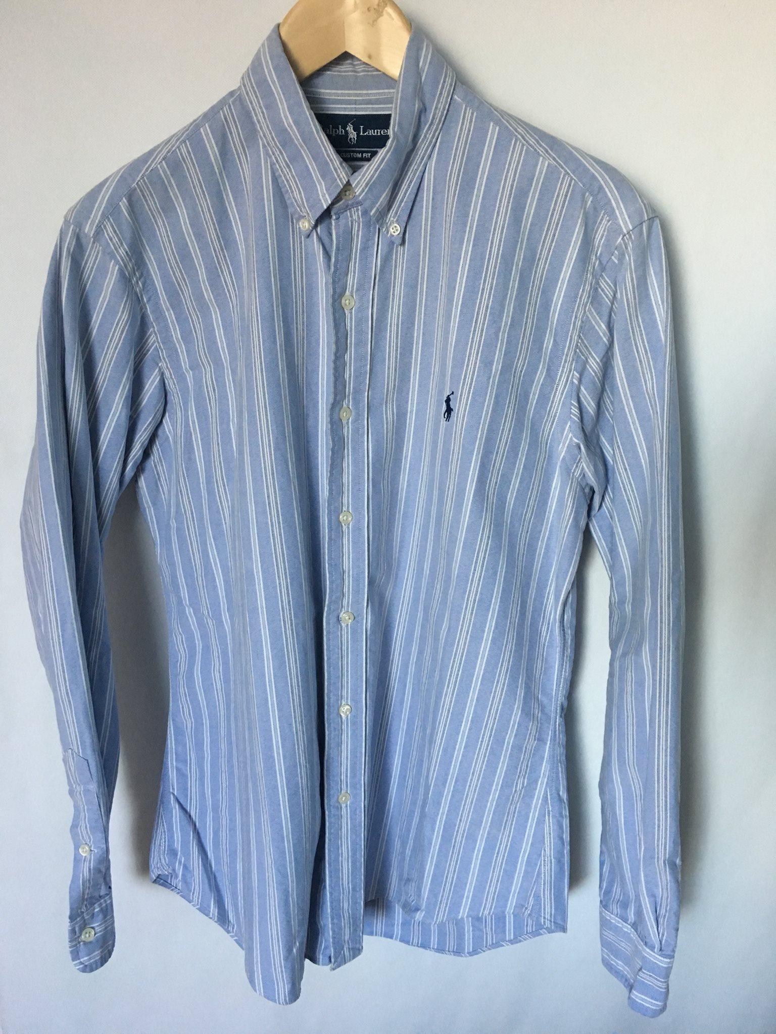 Ralph Lauren oxford skjorta blå vit randig strl M (327933950) ᐈ Köp ... 8b96e1988f151