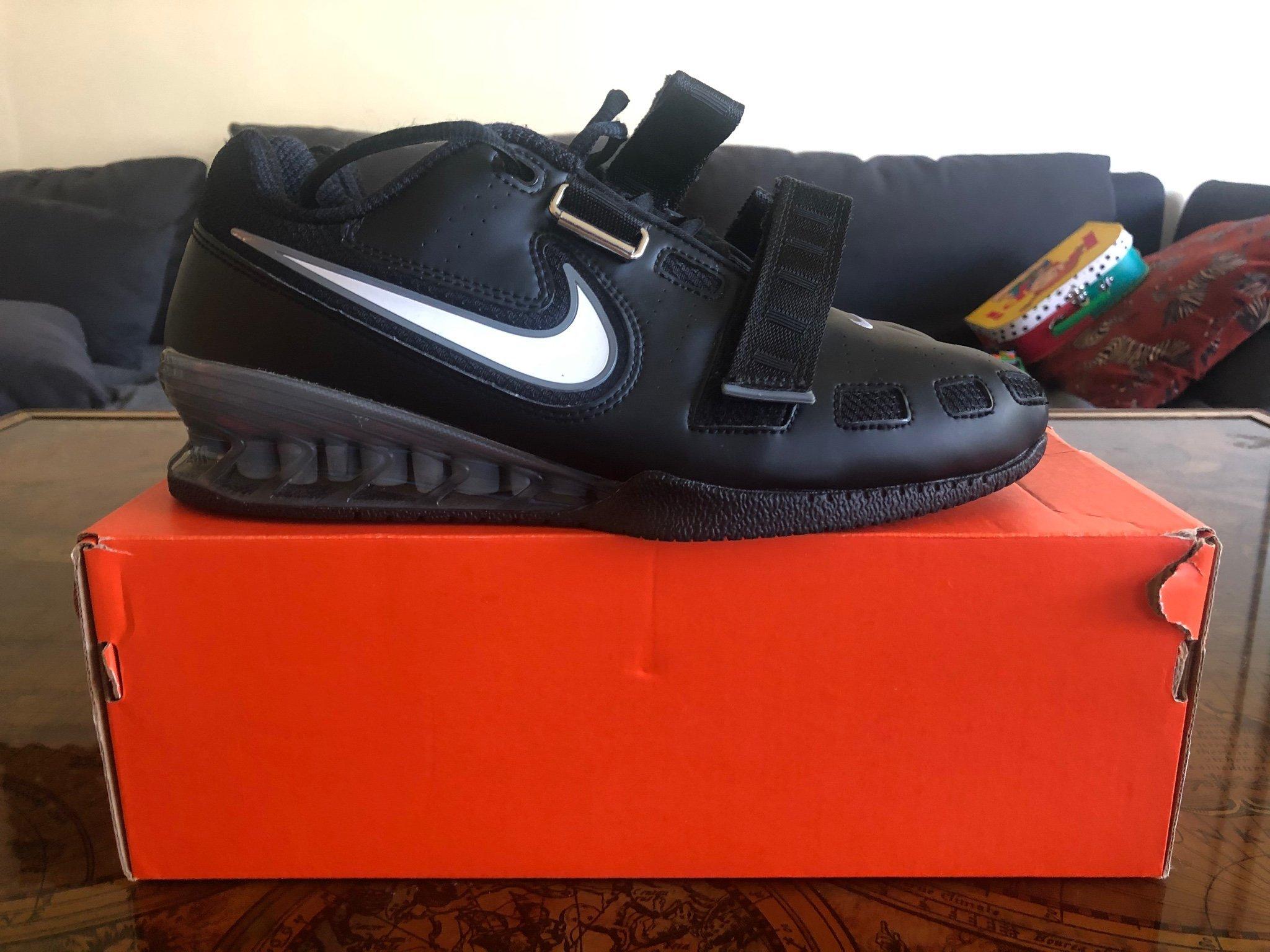 varm försäljning online kostar charm utsökt design Nike, Tyngdlyftningsskor, Romaleos 2, Svart, S.. (401589996) ᐈ Köp på  Tradera