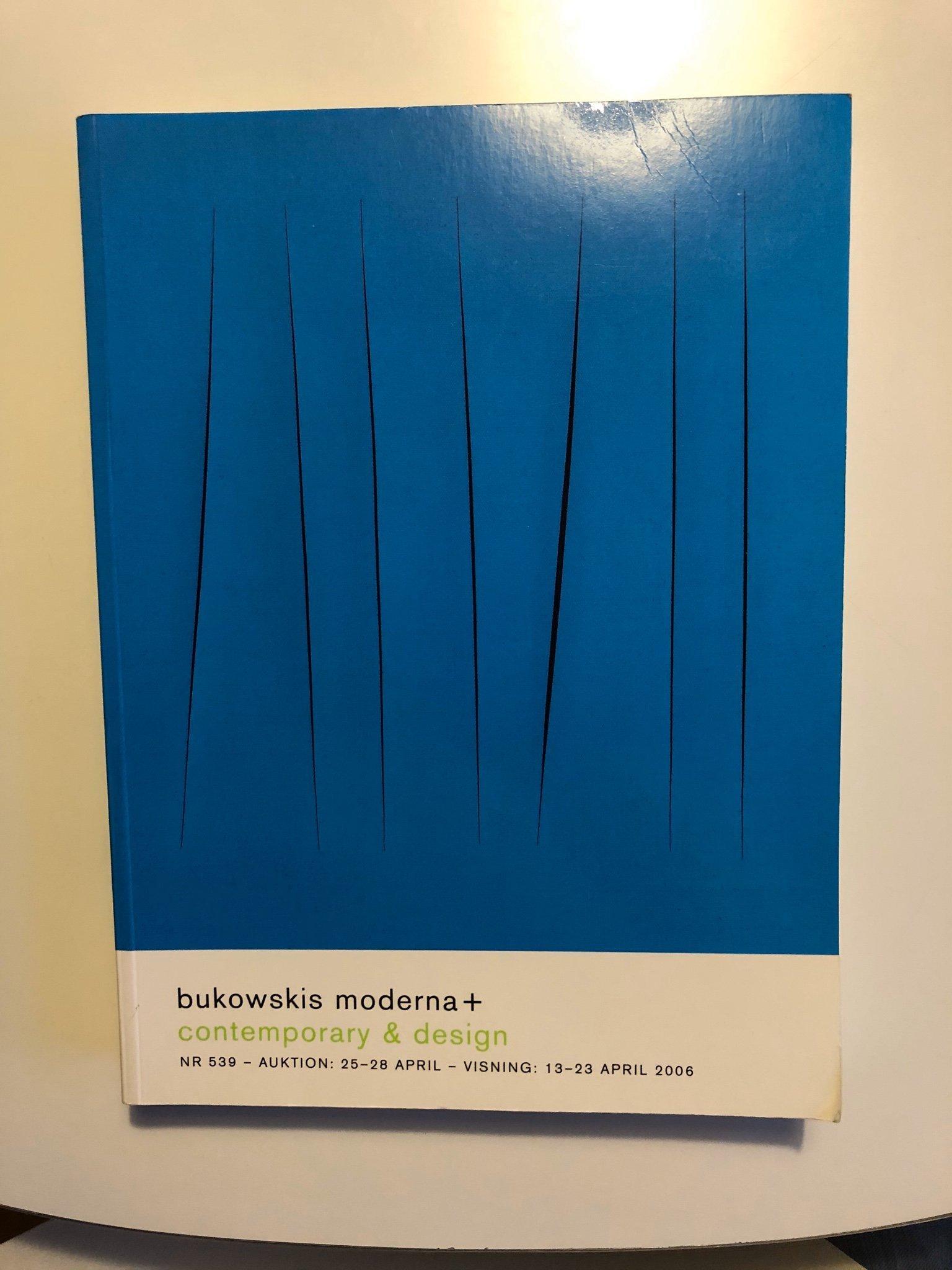 Katalog Bukowskis moderna auktion nr 539 vår 2006