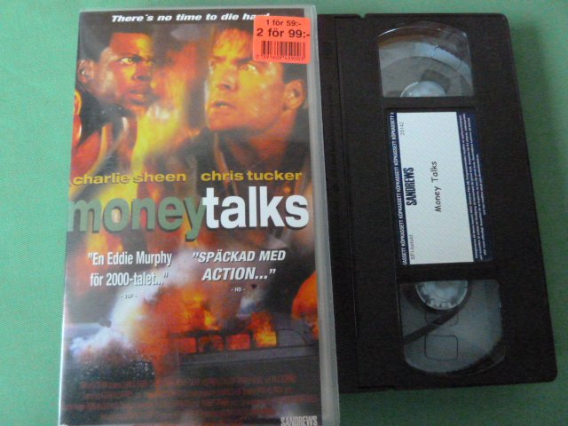 MONEYTALKS,   VHS FILM
